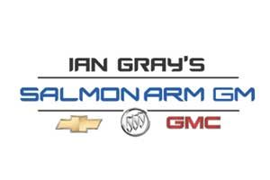 Ian Gray's Salmon Arm GM Logo